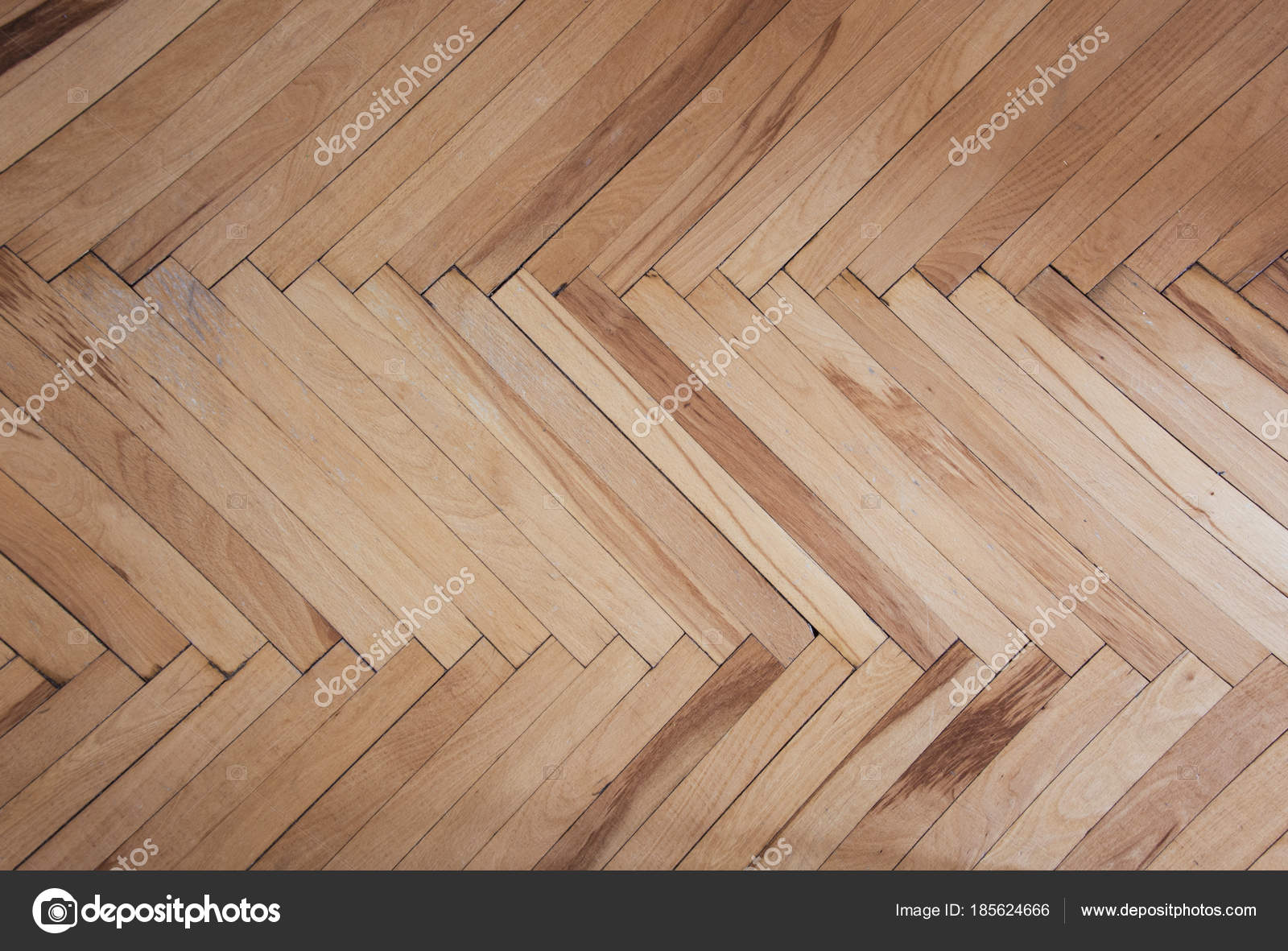 Wooden Texture Of Parquet Pattern Brownish Background Herringbone