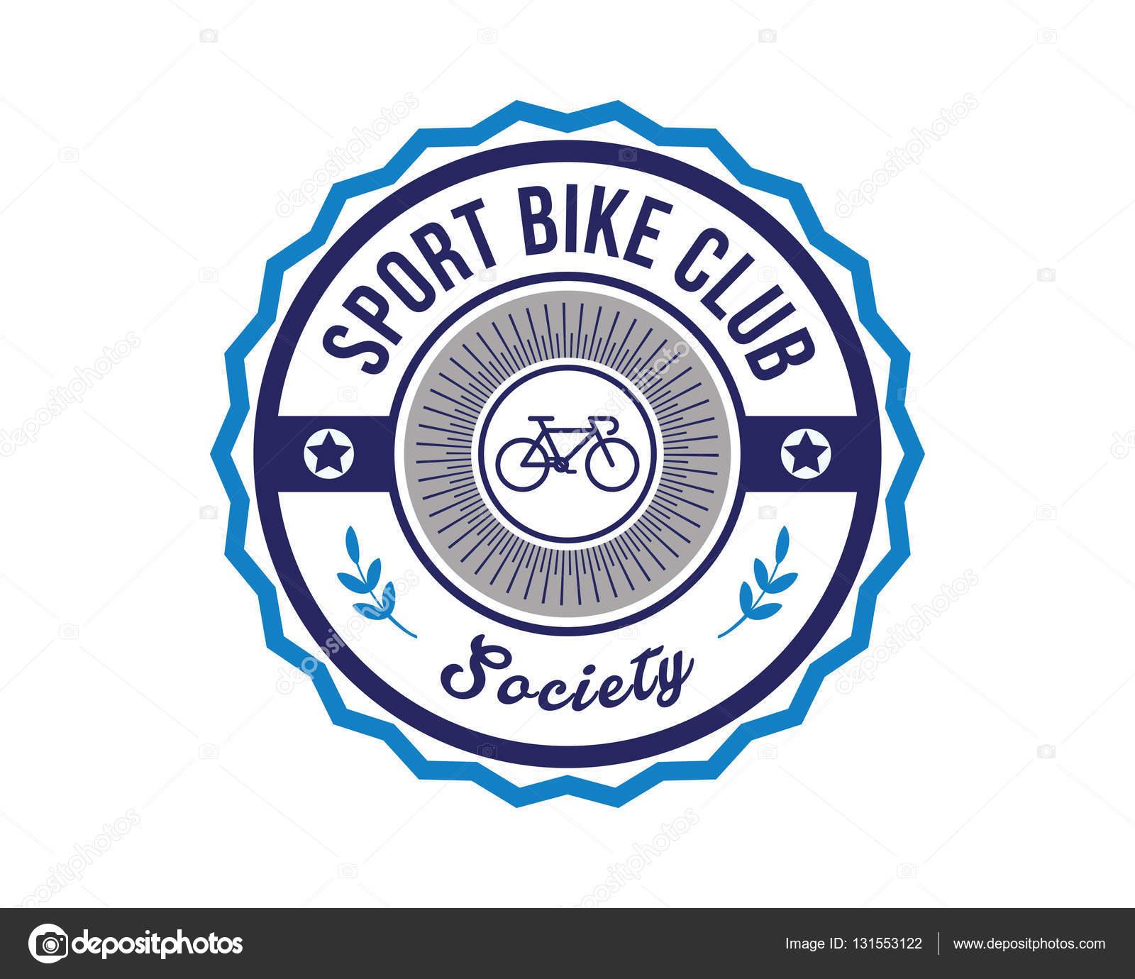 6986aa0977 Moderní sportovní odznak Logo - Cyklistika — Stock Vektor ...