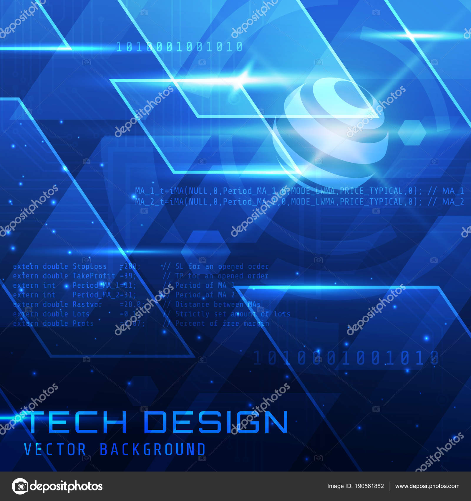 Wallpapers Tech Hd Ultra Abstract Sci Technology Wallpaper Suitable Application Desktop Banner Background Stock Vector C Naulicreative 190561882
