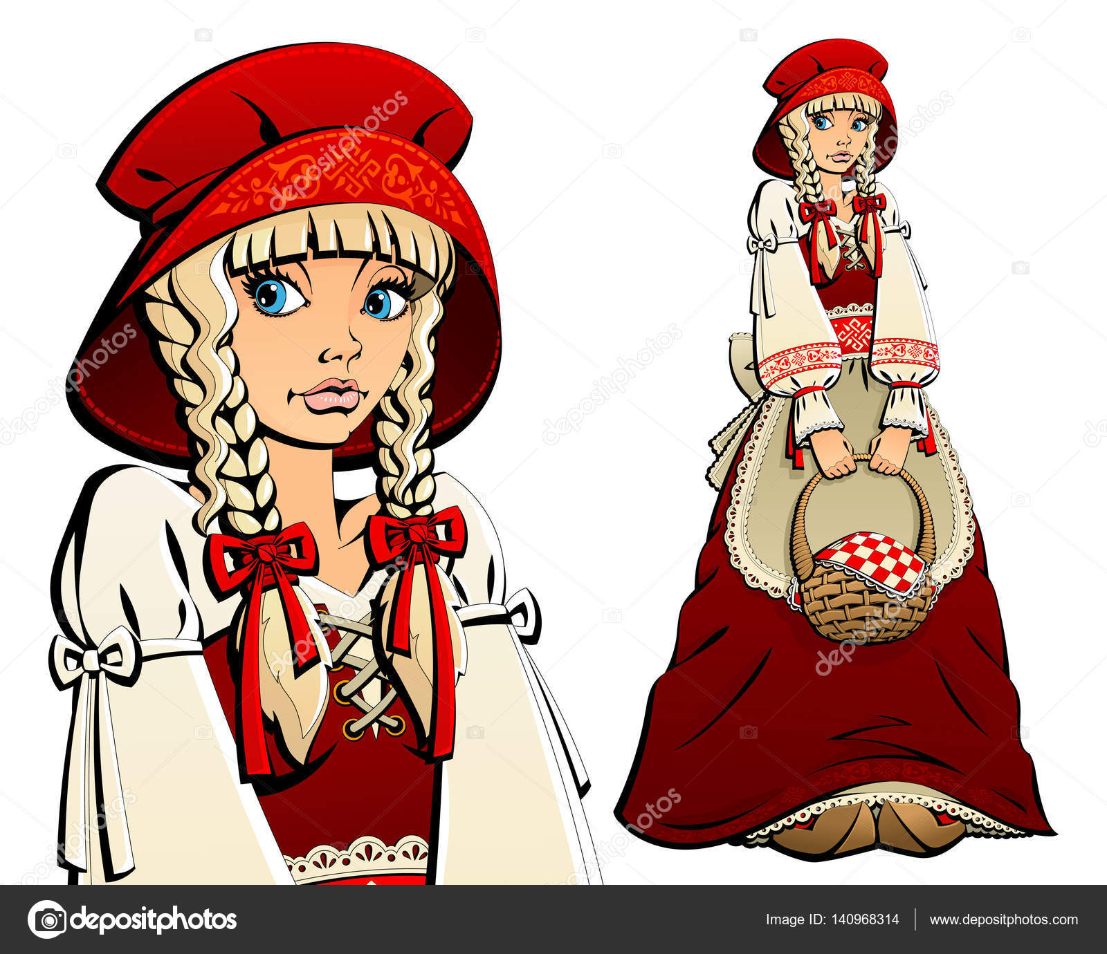 Pictures Little Red Riding Hood Characters Fairy Tale