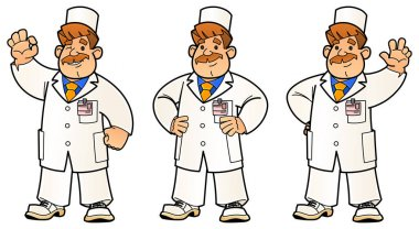 Doctor, Engineer, Scientist or Laboratory. A set of images.