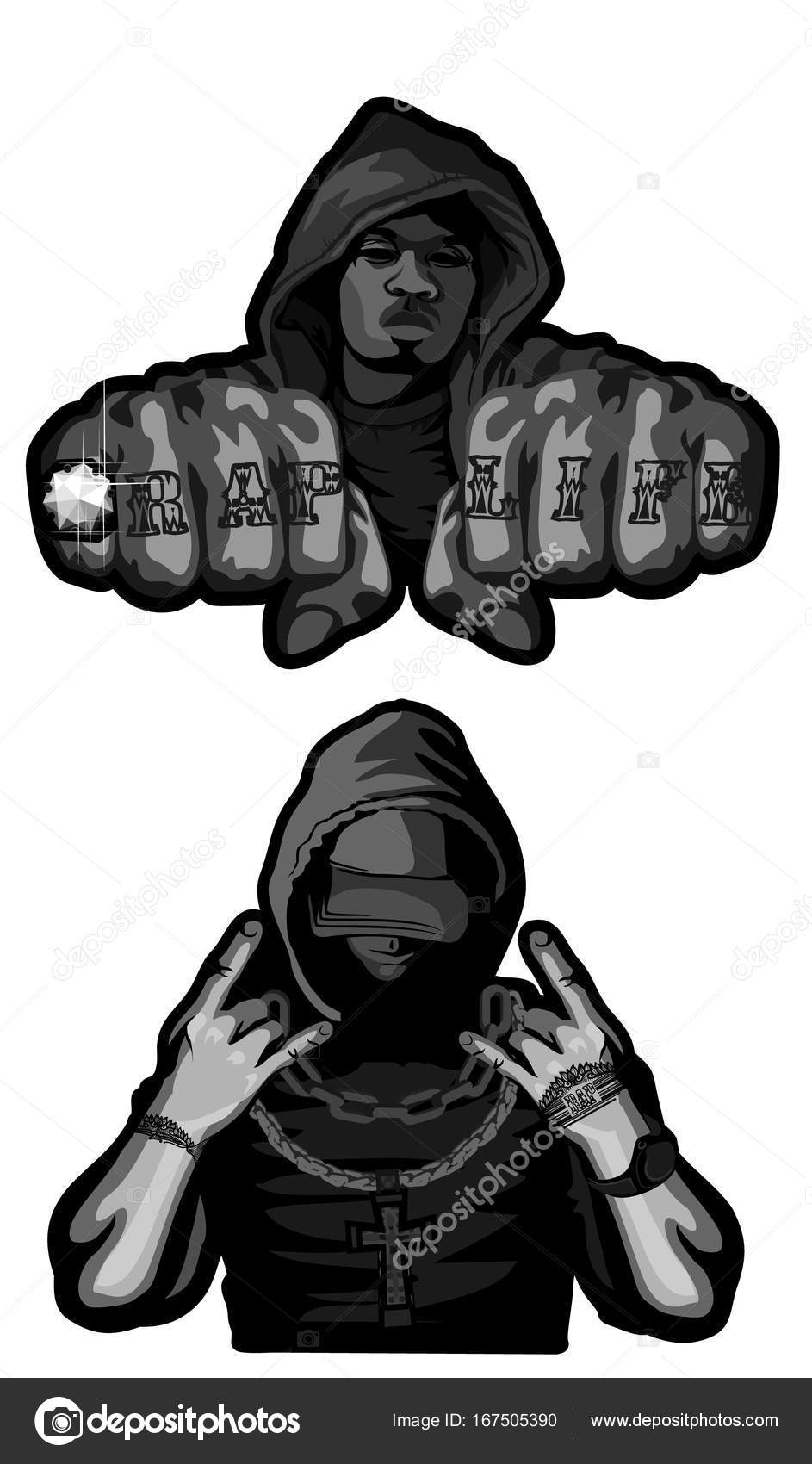 ᐈ Rappers Wallpaper Stock Vectors Royalty Free Black Rappers Illustrations Download On Depositphotos
