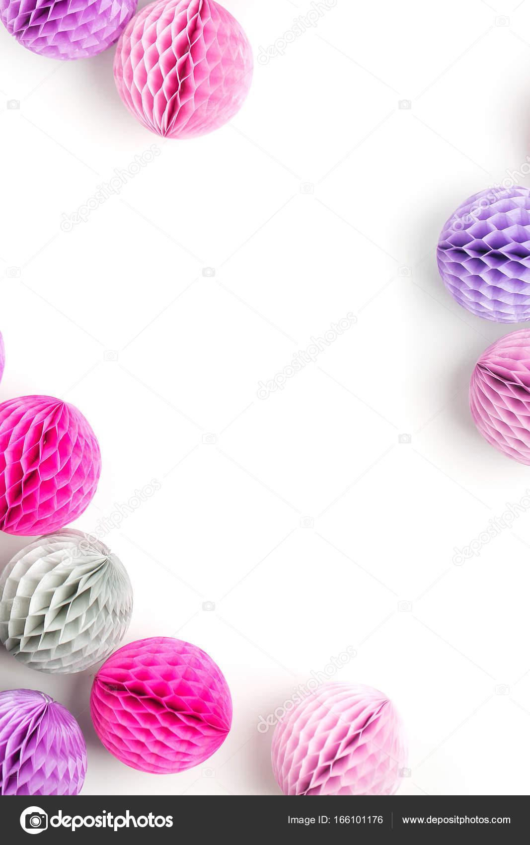 Decoraciones de las bolas de nido de abeja — Fotos de Stock ...
