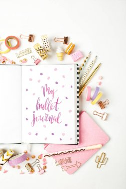 Monthly planner and stationery