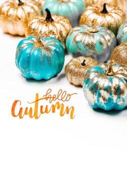 Shiny Decorative Pumpkins