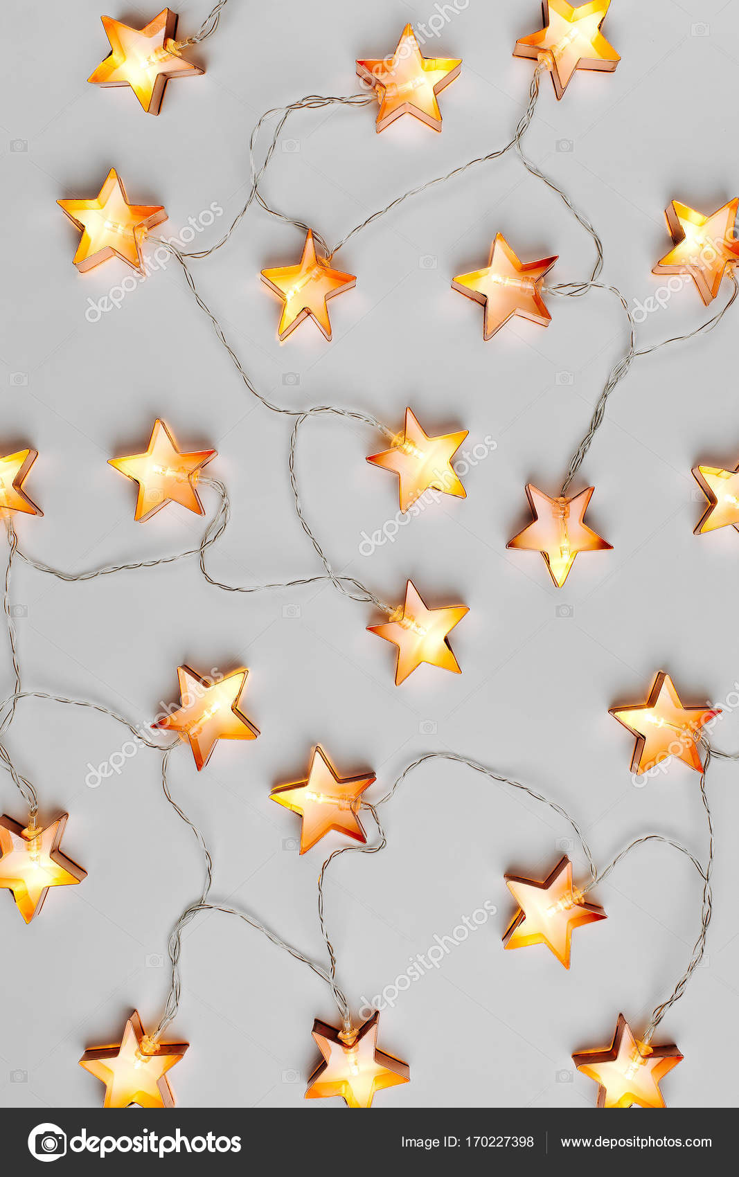 Ster verlichting decoratie — Stockfoto © Igishevamaria #170227398