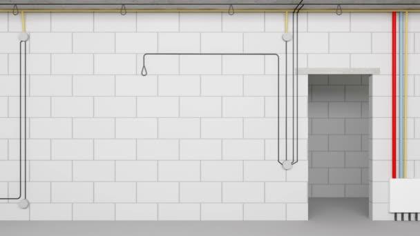 Proces budování interiérů