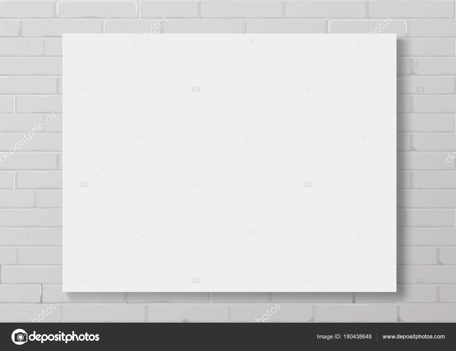 Marco vacío blanco horizontal — Vector de stock © denisik11 #180438648