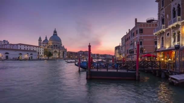 Velký kanál v Benátkách Itálie