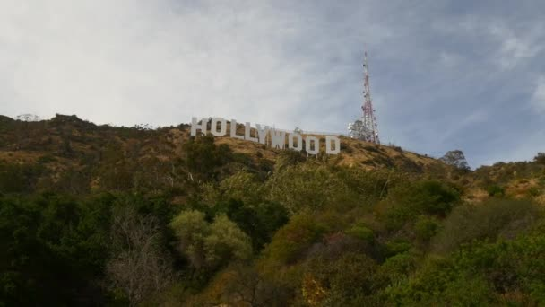 Aerial View of Entertainment Symbol Holywood Sign