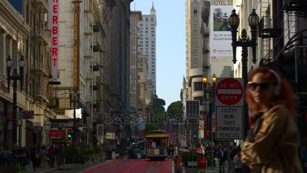 crowded San Francisco streets