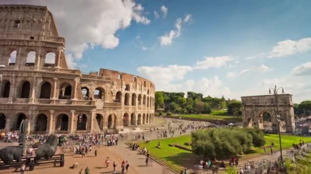 Koloseum nebo Kolosea timelapse