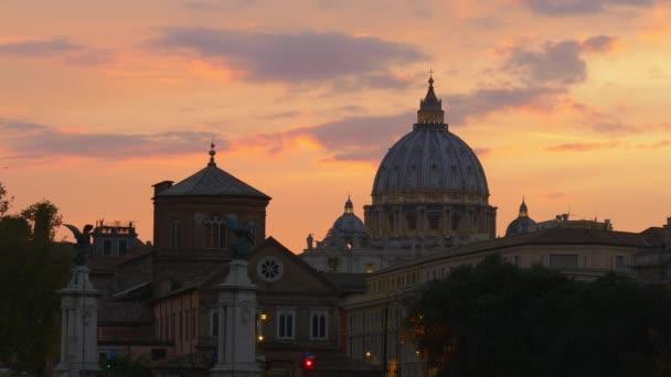St. Peters Basilica Vatican Skyline