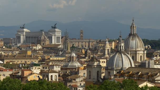 Beautiful skyline of Rome
