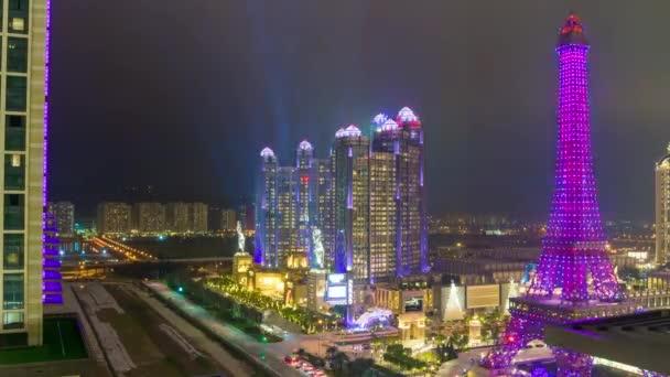 Paříž styl slavný hotel tower v Macau