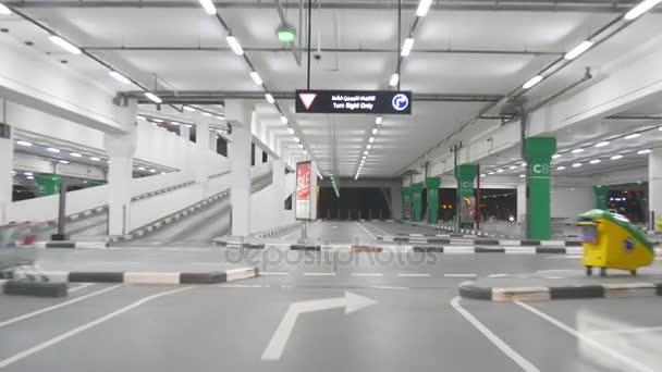 underground car parking in Dubai