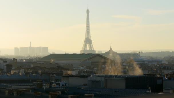 Krásné panoráma města Paříž
