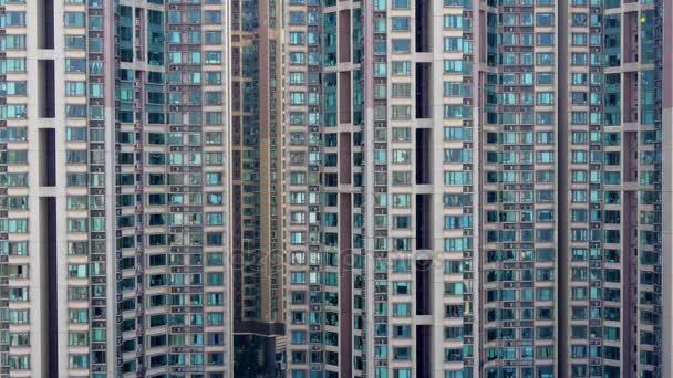 den čas hong kong slavný bytové domy přední střešní zobrazení 4k Číně