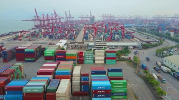 Shenzhen berühmter Containerhafen