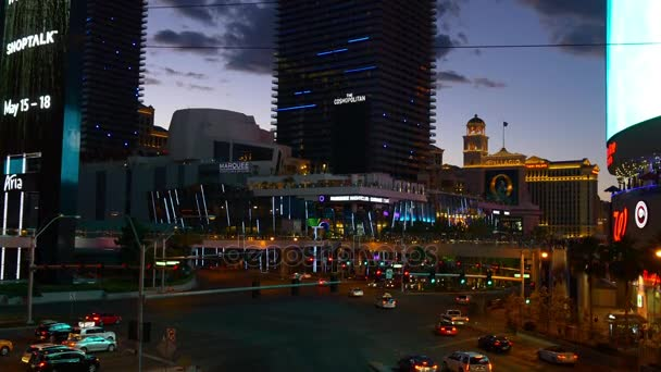 Las Vegas night life.