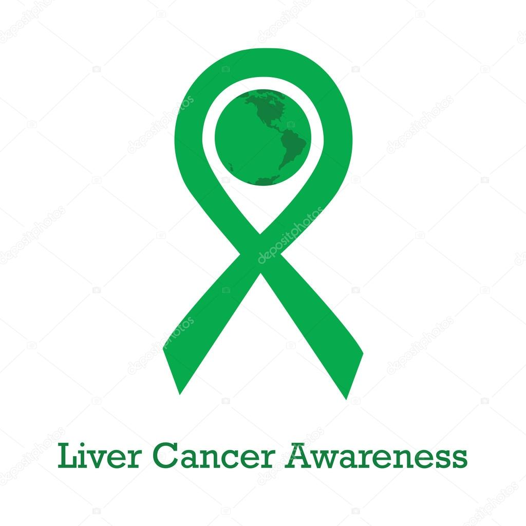 International day of liver cancer awareness stock vector international day of liver cancer awareness vector illustration with green ribbon traditional symbol and earth globe in similar colors biocorpaavc Gallery