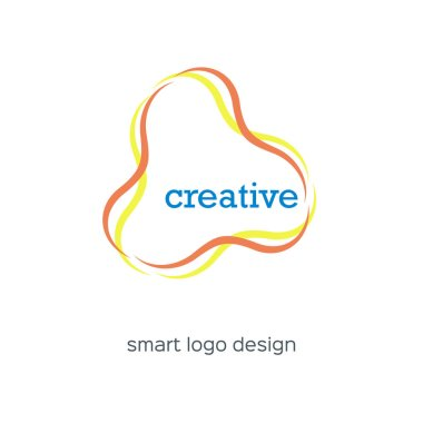 Creative elegant logo design vector.