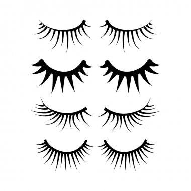 two eyes eyelash extensions set