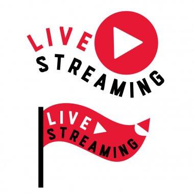 live stream flag shape