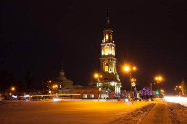 Kolomna, Russia. Church of John Theologian Near With Ivanovo Gat