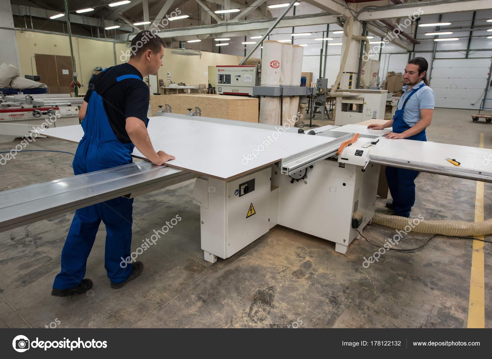 Herstellung Von Mobeln Bearbeitung Von Spanplatten Blechen