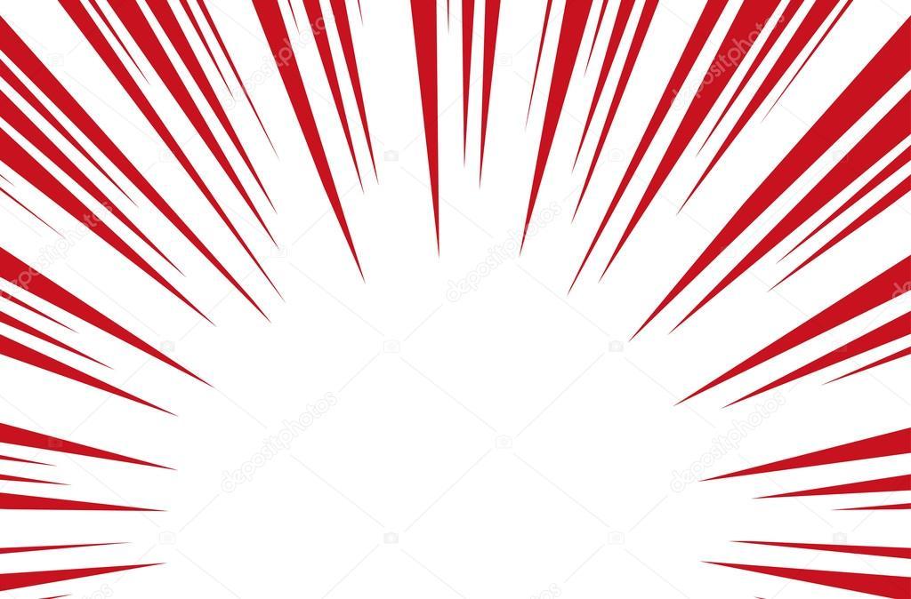 Rayos De Sol Vector: Rayos De Sol Para Cómics