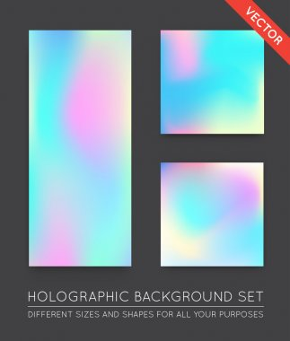 Holographic Trendy Backgrounds