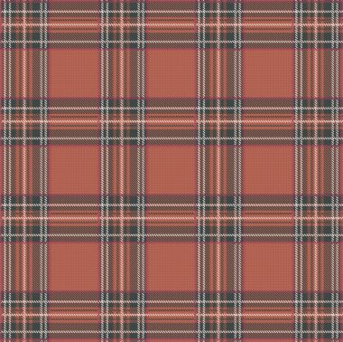 Tartan Plaid Vector Pattern Background
