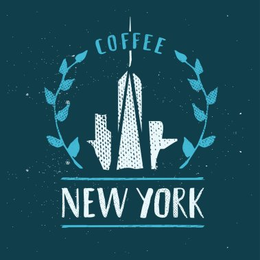 New York City Template Hand Drawn Calligraphy