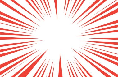 Sun Rays for Comic Books