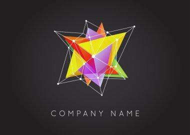 Geometric Shapes, Vector Logo