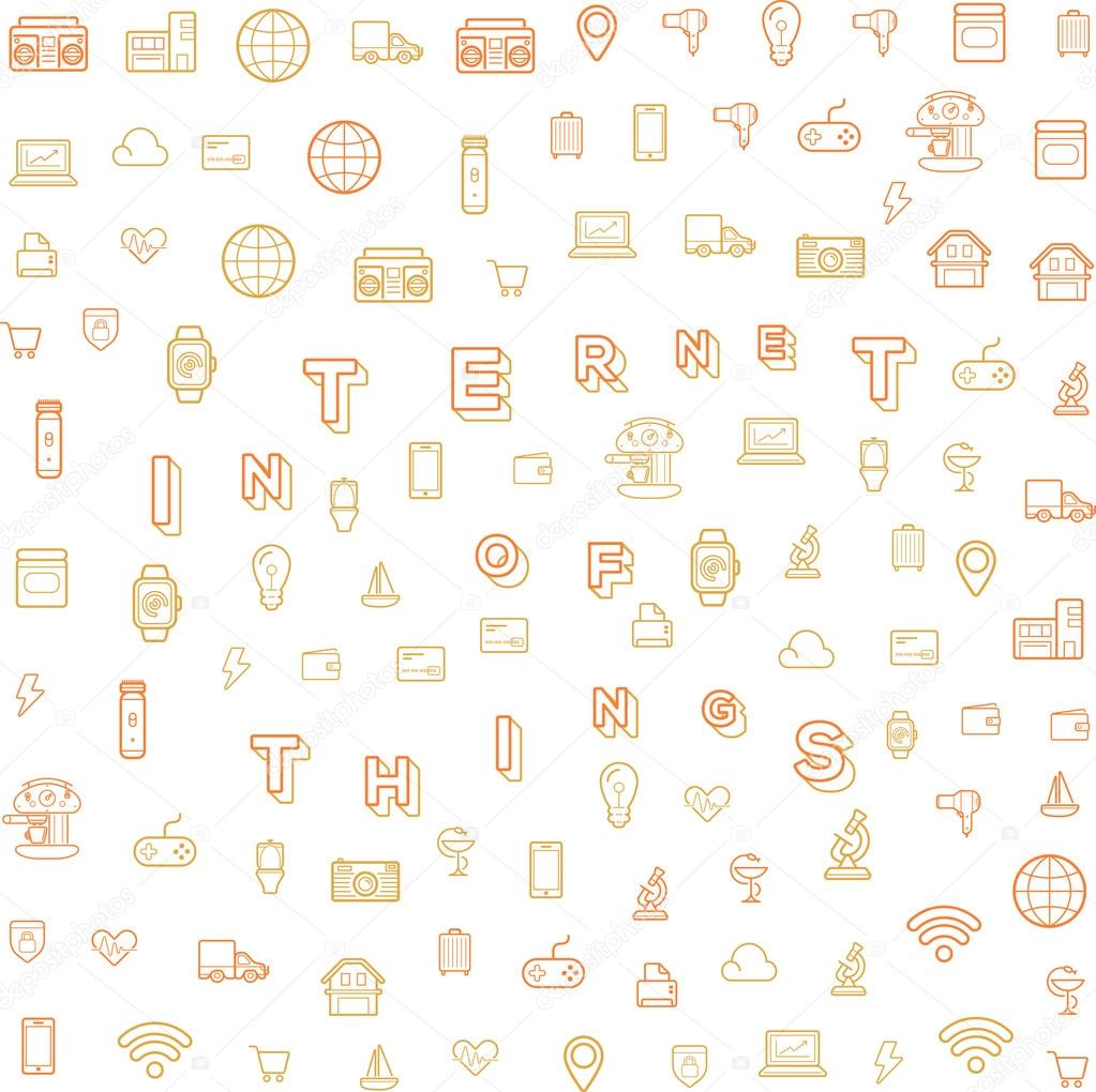 Internet of Things, Design with Icons