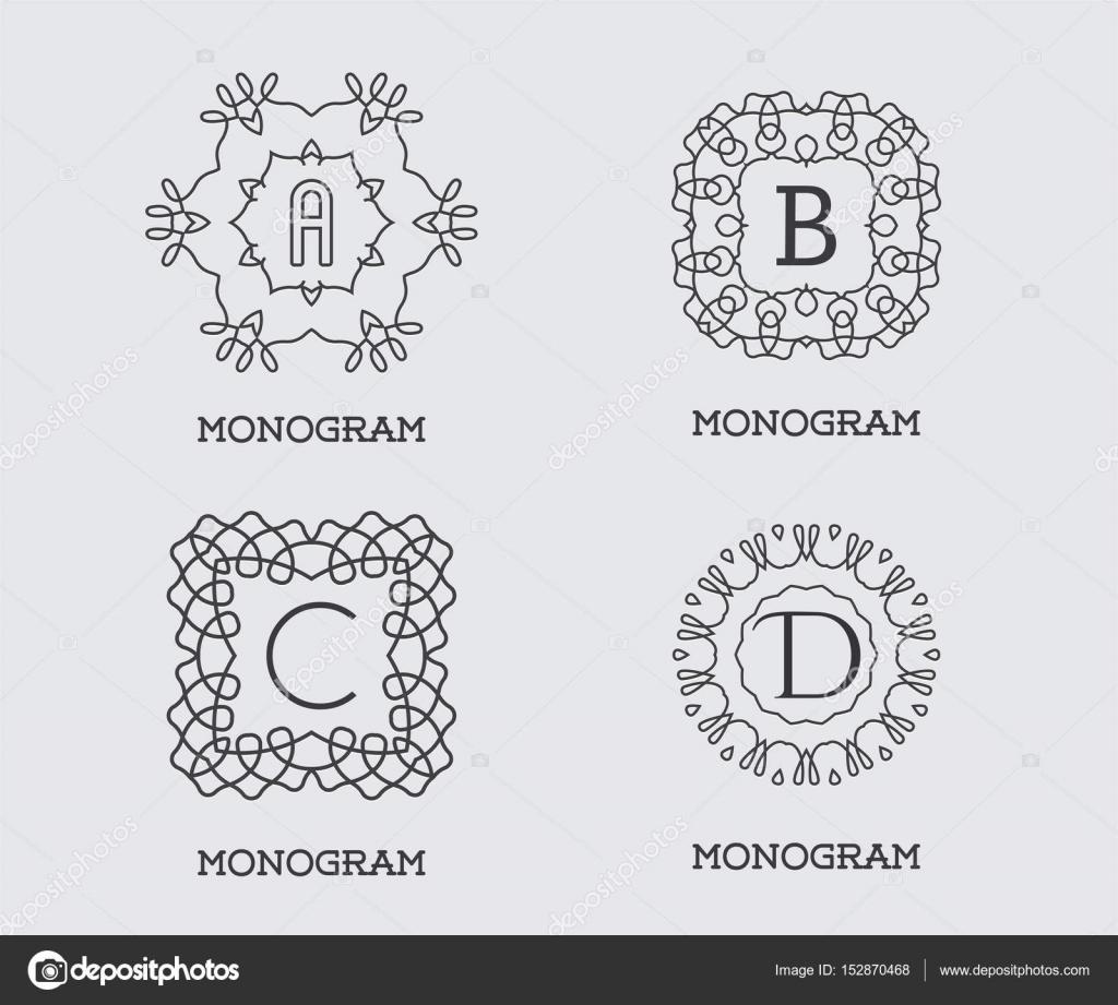 Erfreut Hochzeits Monogramm Design Vorlagen Fotos - Beispiel ...