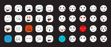 Set of Emoticons for Devices