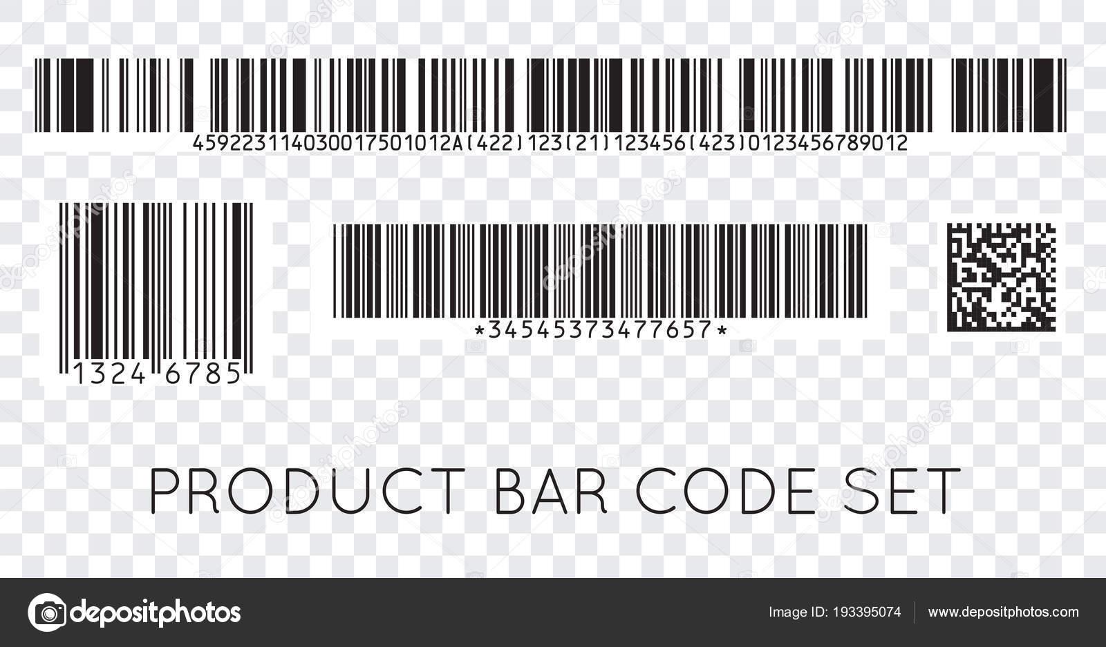 バーコード アイコン モダンなフラット バーコードのセットです 製品の