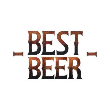 Watercolor best beer