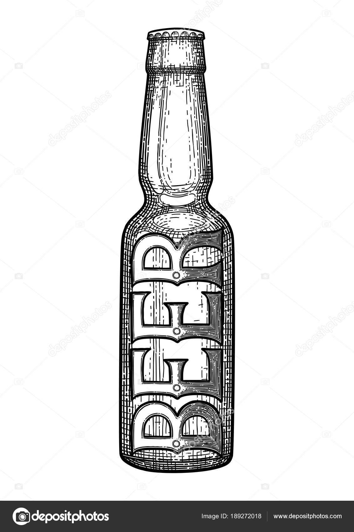 Dibujos Bebidas Alcoholicas Para Colorear Gráfico Botella De