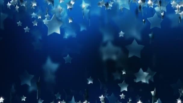 Tmavě modré hvězdy abstraktní umění Award pozadí