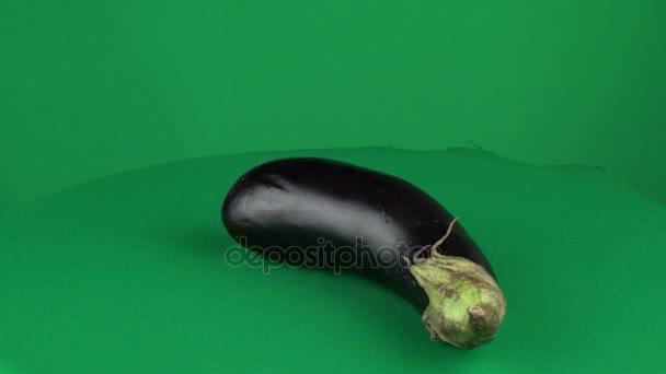 Rotazione schermo verde Chroma chiave opaco melanzana