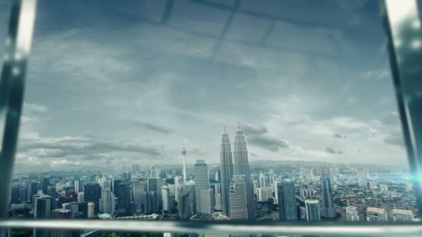 Metoda handshaking podnikatel na důležité schůzce v Kuala Lumpur