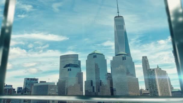 Metoda handshaking podnikatel na důležité schůzce v Manhattanu třetí verzi