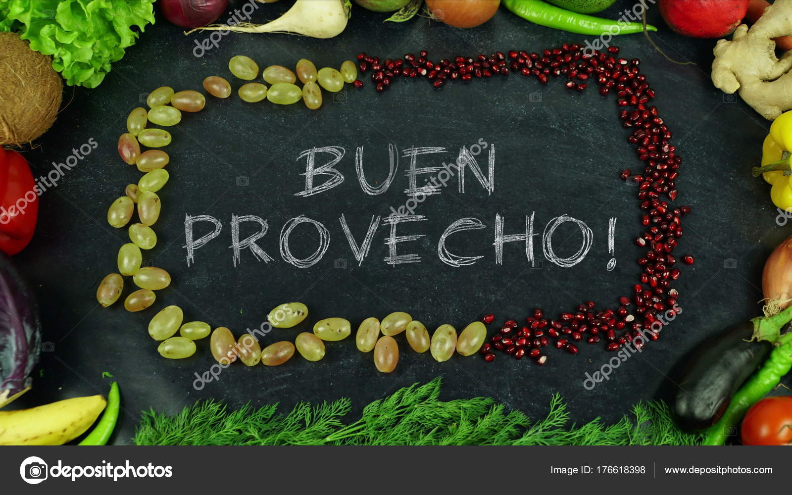 Buen Provecho Spanish Fruit Stop Motion In English Bon Appetit