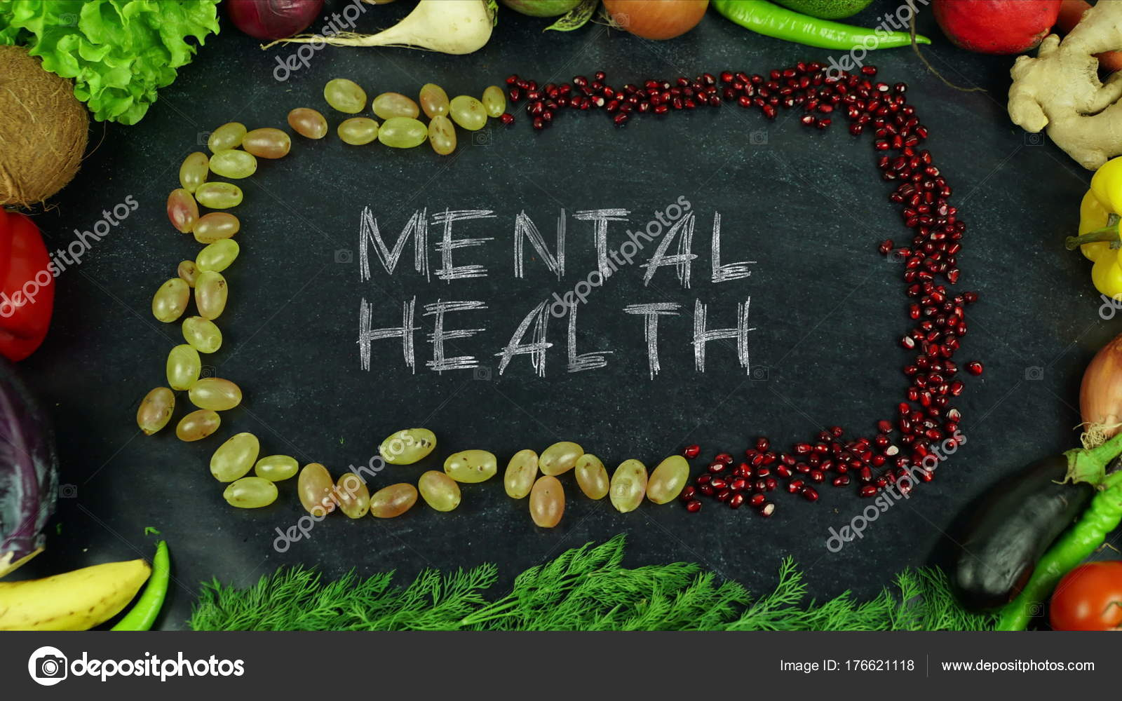 Mental Health Fruit Stop Motion Stock Photo C Ankabala 176621118