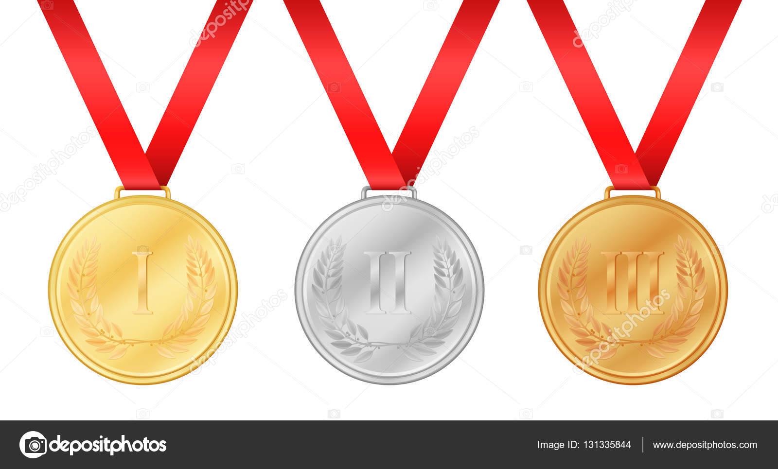 Tre Medaglie Olimpiche. Medaglia D'oro. Medaglia D'argento
