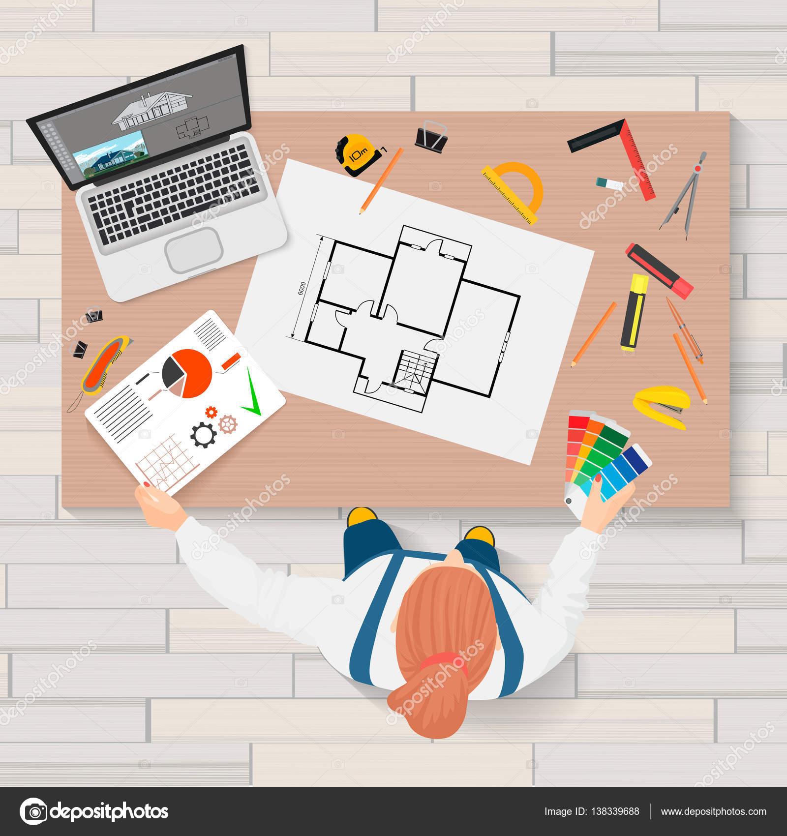 Ingenier a de construcci n arquitecto planificaci n y for Trabajo de arquitecto